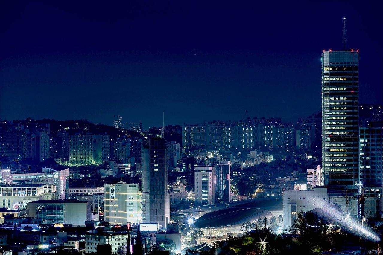 Seoul Korea Aerial Shot Streets Of Seoul Dongdaemun From The Rooftop Cityscapes DDP - DongdeamunDesignPlaza Amazing Architecture The Traveler - 2015 EyeEm Awards Zaha Hadid