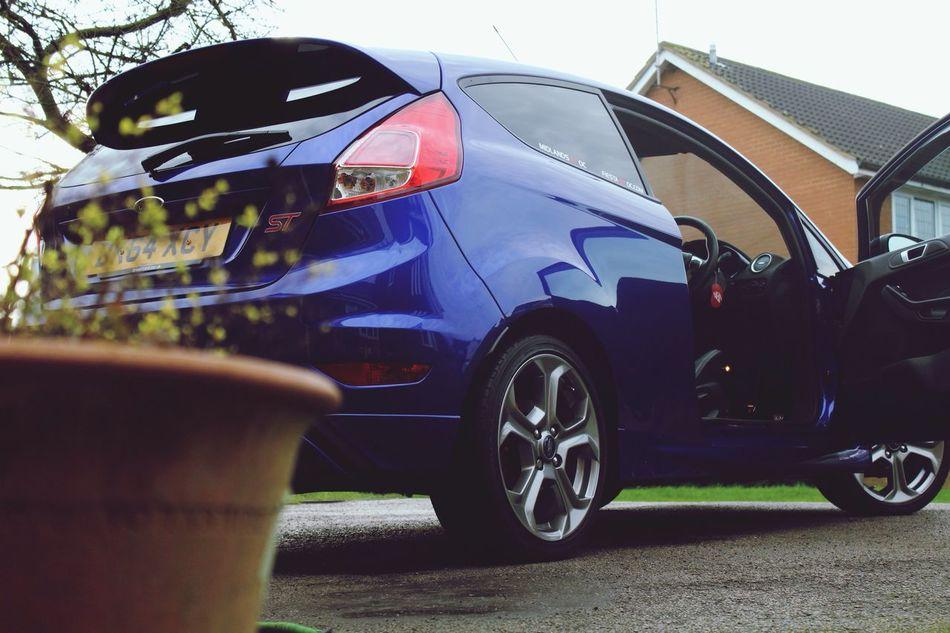 My man's nice set of wheels 👌🏻 Fiesta FiestaST Cars First Eyeem Photo