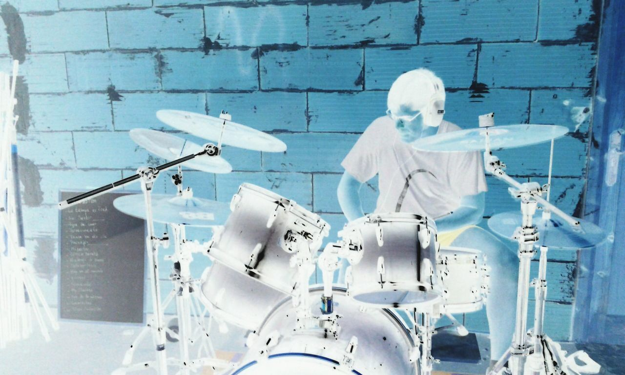 Negative Effect Drummer Percussion Photo