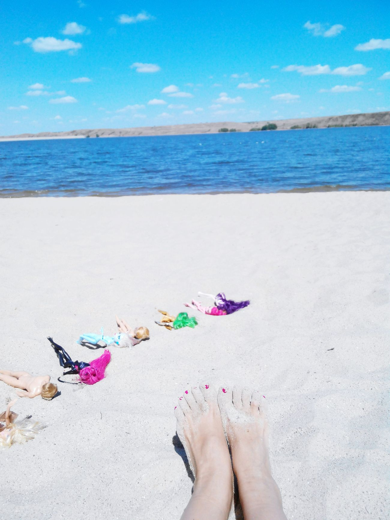 Monster High Dolls On The Beach My Feets