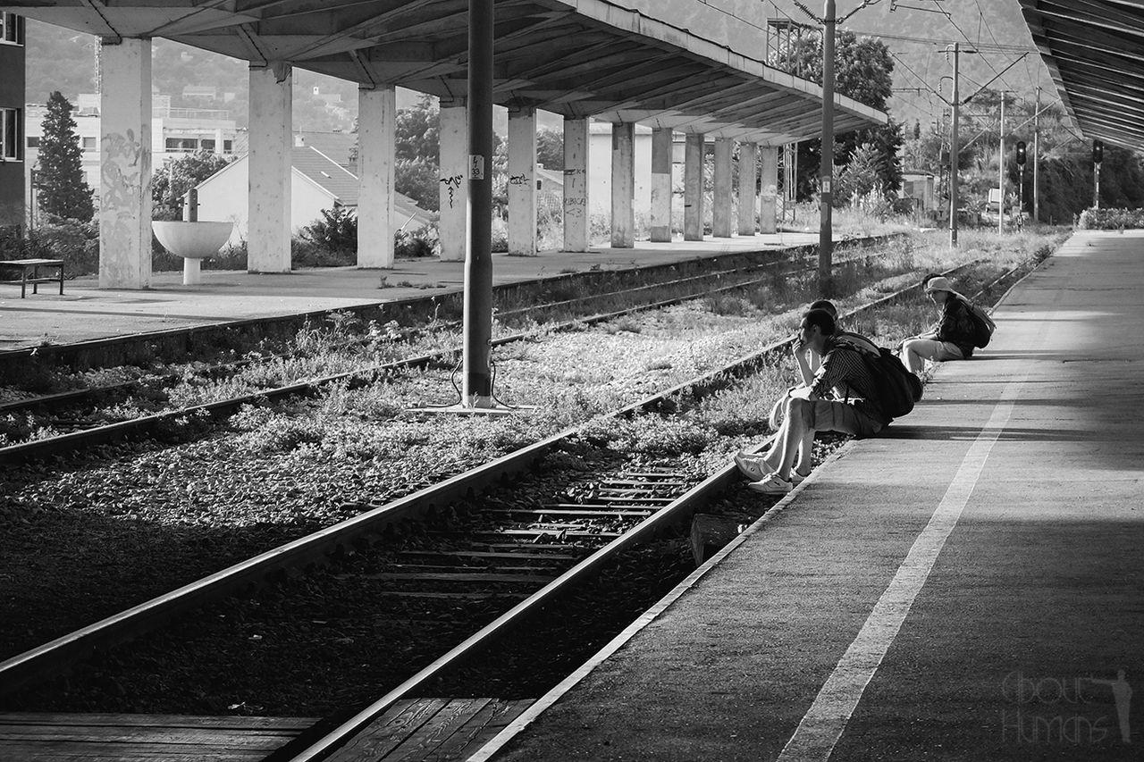 Streetphotography Balkan On The Train Beautiful Light