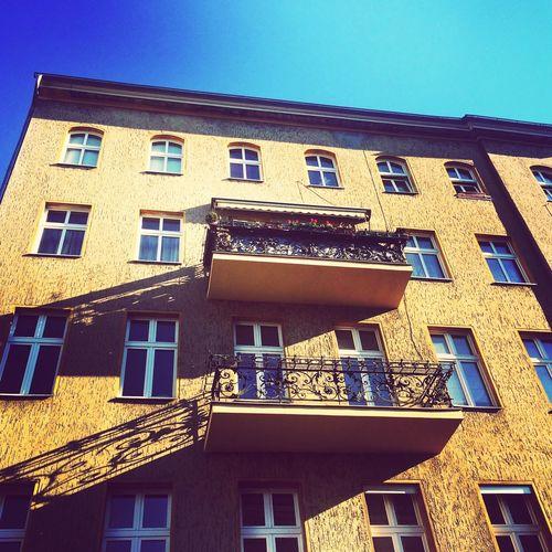 Inspiring walk in the sunshine today Reflections Neukölln