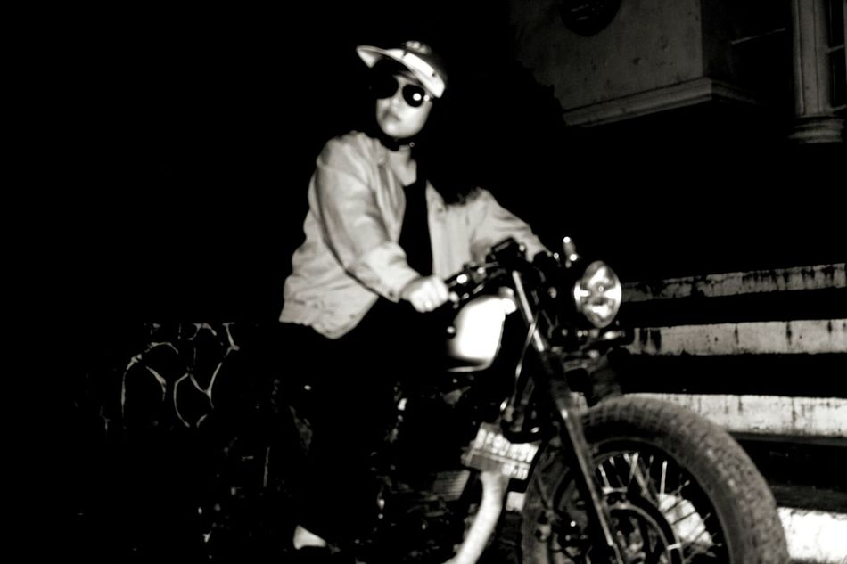 Motorbike Caferacer Caferacerculture Womanstyle Canon650d Bw Photography