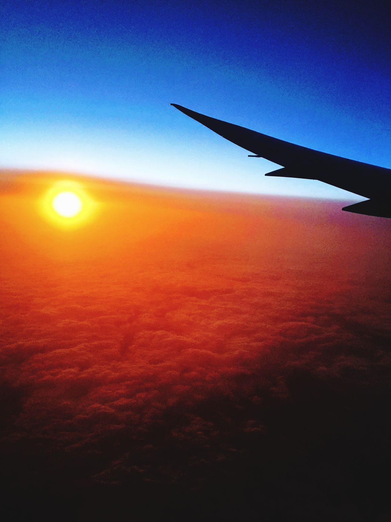 Plane Flying Holiday