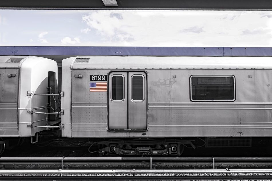 Subway NYC NYC Photography EyeEm In NYC 2015 USA Starting A Trip Photowalk Train Station From Where I Stand
