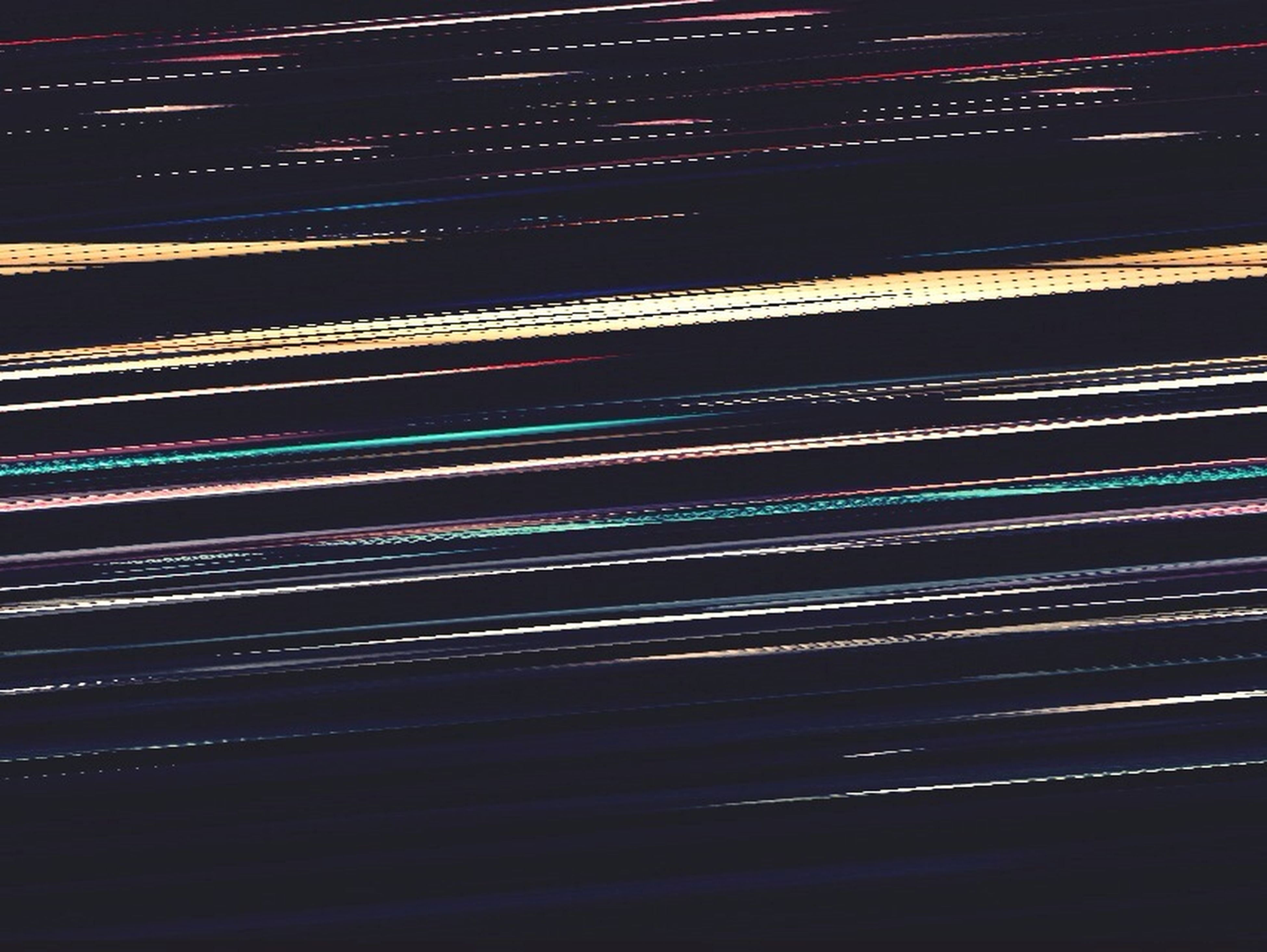 night, illuminated, long exposure, light trail, pattern, backgrounds, full frame, abstract, motion, speed, multi colored, blurred motion, glowing, no people, light - natural phenomenon, curve, light, high angle view, outdoors, road