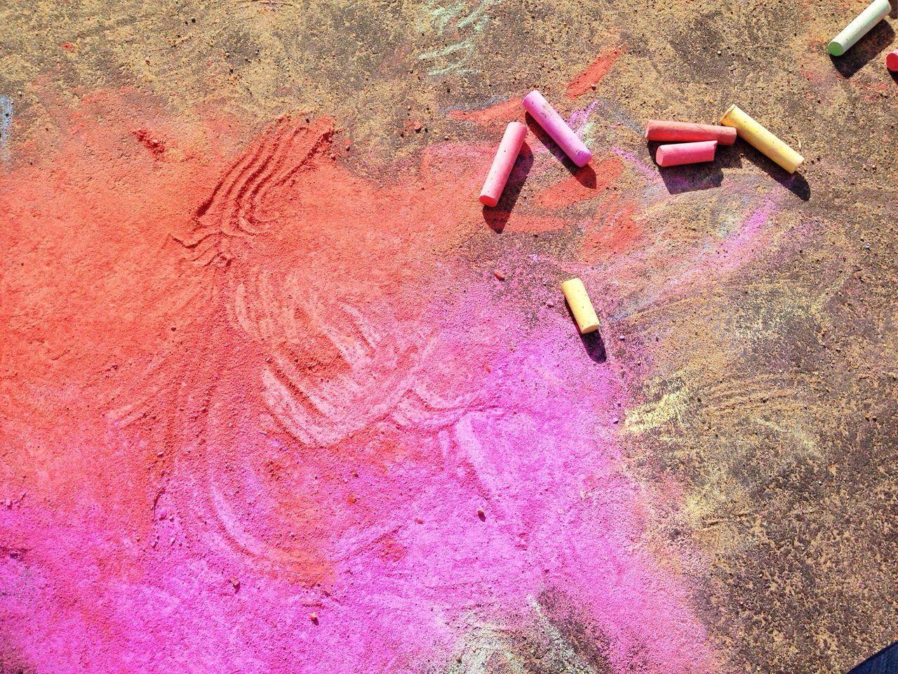 La Vida Es Color Street Art