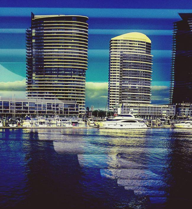 Reflections ...Docklands The Explorer - 2014 EyeEm Awards