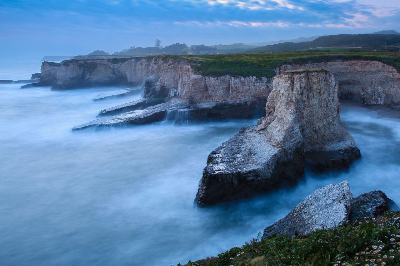 Beautiful stock photos of hai, nature, water, beauty in nature, rock formation