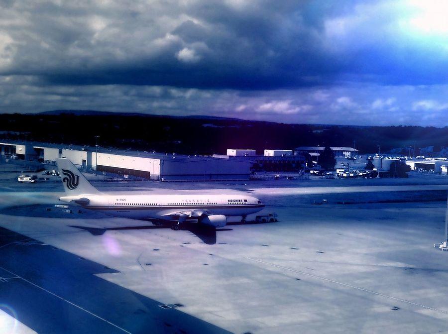 At The Airport Gatwick Airport Air China