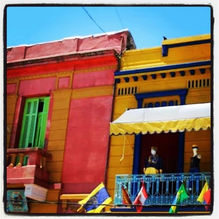 Caminito Buenosaires Argentina Colors Summer Vivienbuenosaires Buenosaires