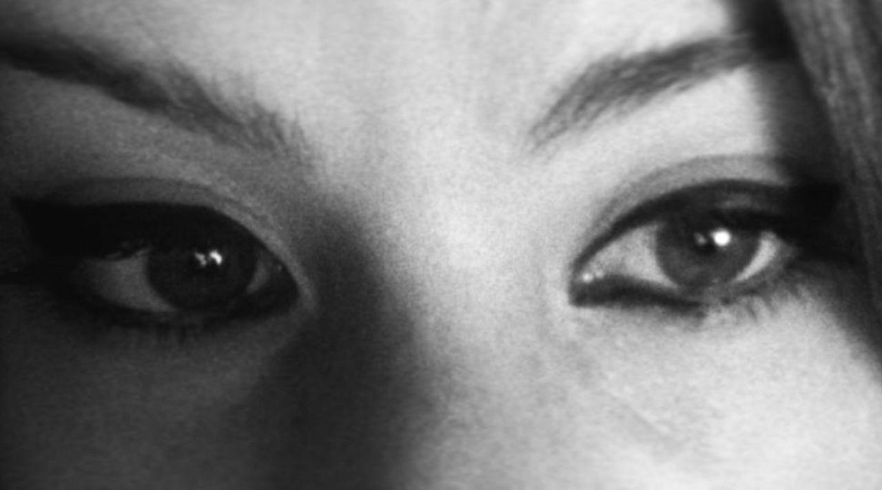 Myeyes Eyes Eyebrow Women Close-up Make Up Blackandwhite B/w B/W Filter