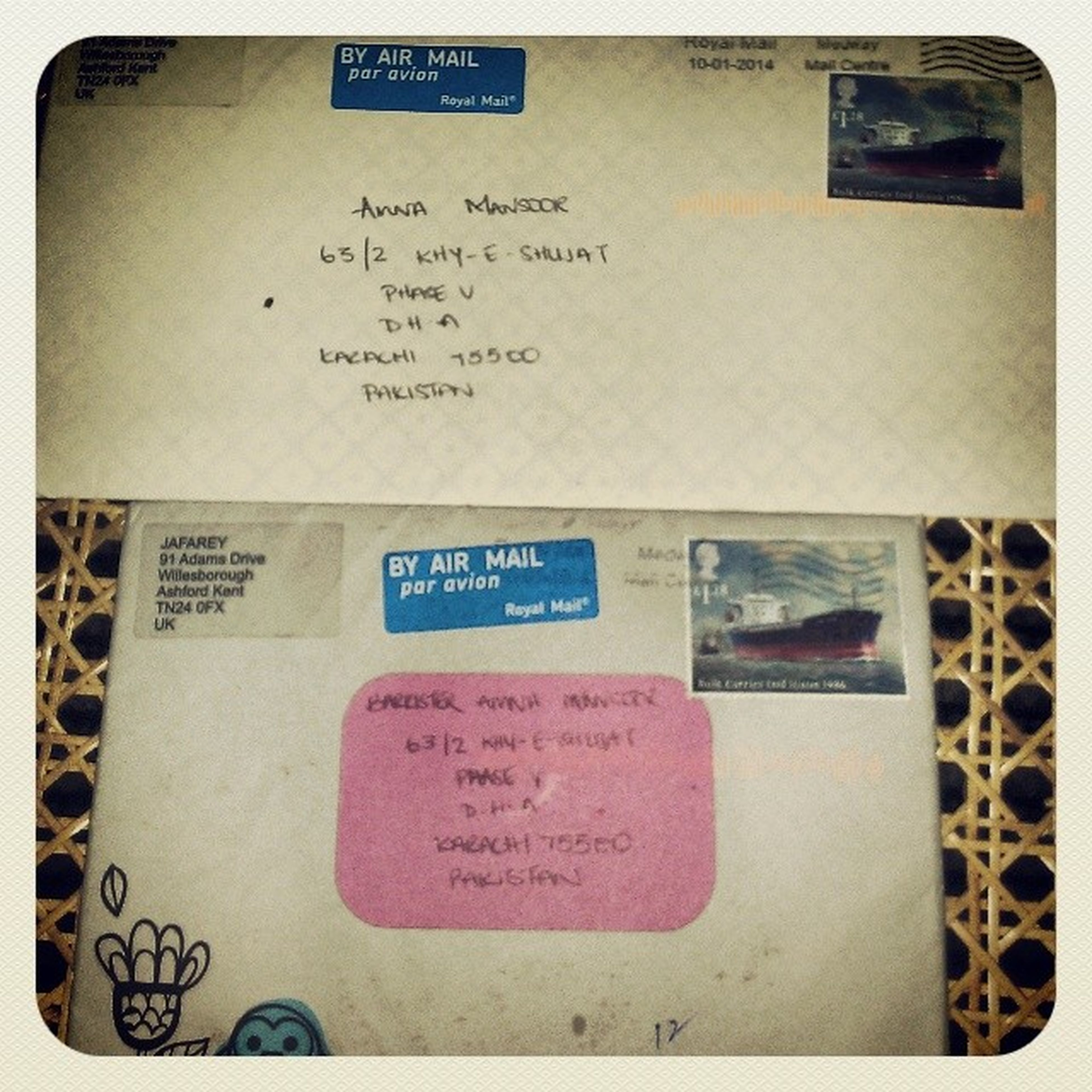 Who 'sGotMail Bestie  SnailMail Smj What's better then getting one letter, from your bestie...two letters! Love having four conversations running at any one time