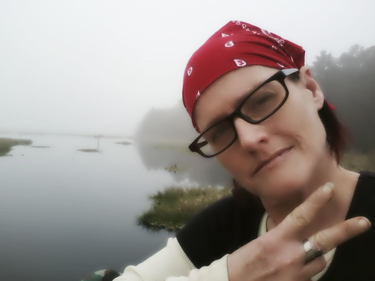 Taken on 1/3/15. I was chillin at the river early this morning. That's Me Enjoying Life Hello World Relaxing