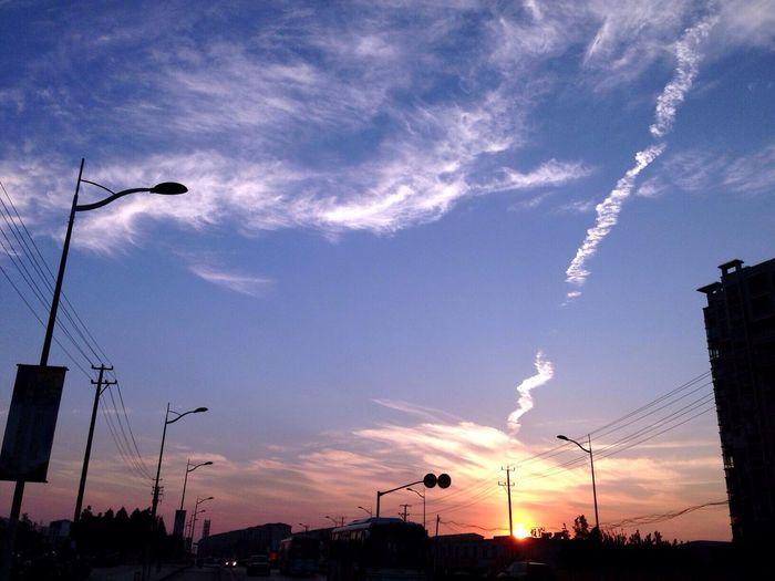 Walk This Way sunset