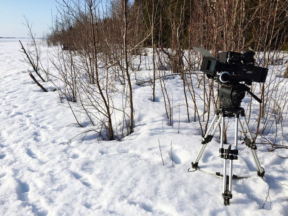 Arri Alexa Plus Focus Puller Snow ❄ Filmset Arri Alexa Film Gear Love ARRI