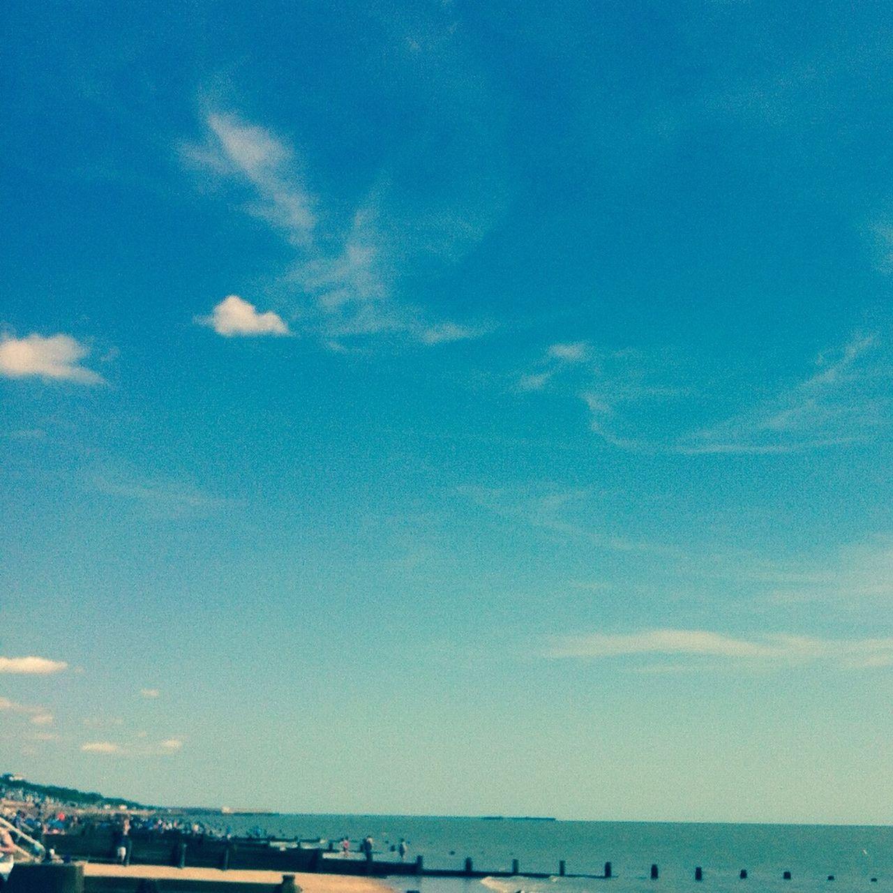 Frinton on Sea a quaint seaside resort! Frinton Seaside Sea And Sky Coast Summer Days Out Essex Blue Sky Enjoying Life Blue