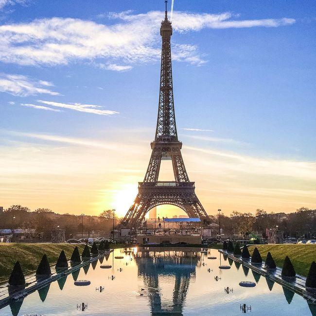 Good night Paris! Bonne fin de soirée! Architecture Paris Eyem Best Shot - Architecture Eiffel Tower Tour Eiffel Sunrise_Collection Sunrise