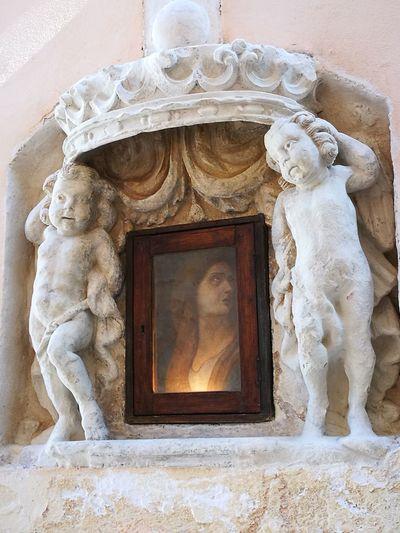 Architecture Bas Relief Sculpture Statue No People Ragusa Ibla, Sicily Ragusa - Scorcio Italiano