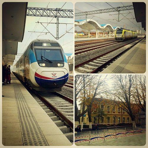 Eskişehir TCDD Trengari Tren Yuksekhizlitren