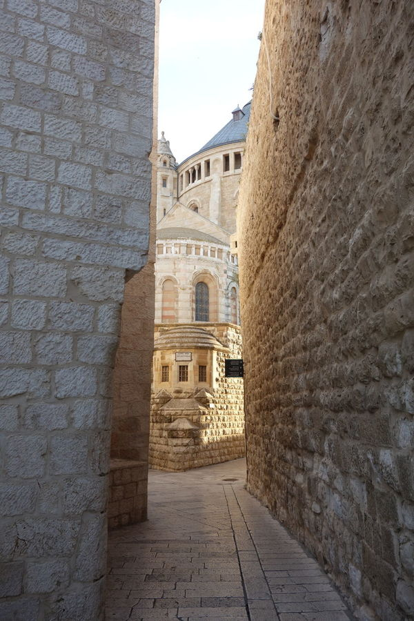 Dormition Abbey Architecture Building Exterior Built Structure Day Dormition Abbey History Narrow Narrow Street No People Outdoors Sky