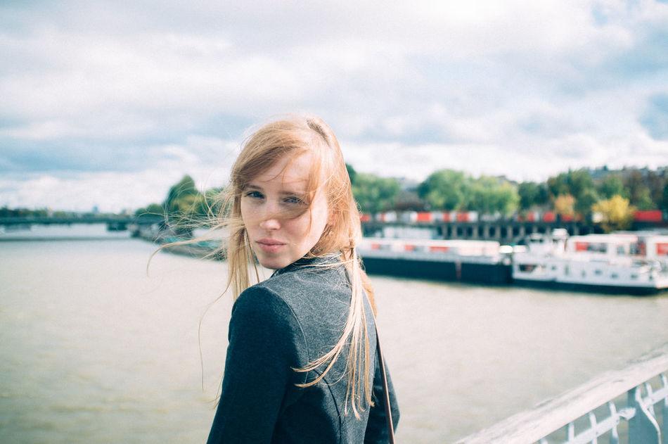Beautiful stock photos of single, Attitude, Blonde, Clouds, Daylight