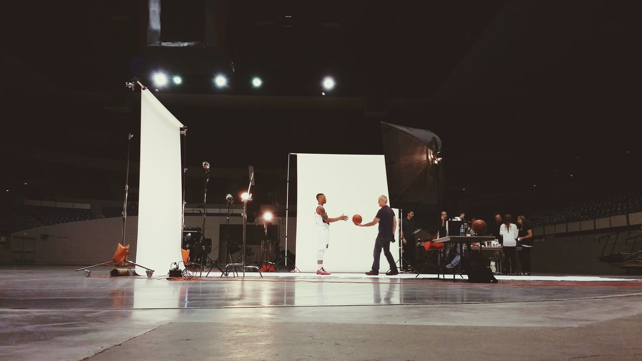 Portland Trail Blazers Damian Lillard Life On Set Photo Shoot