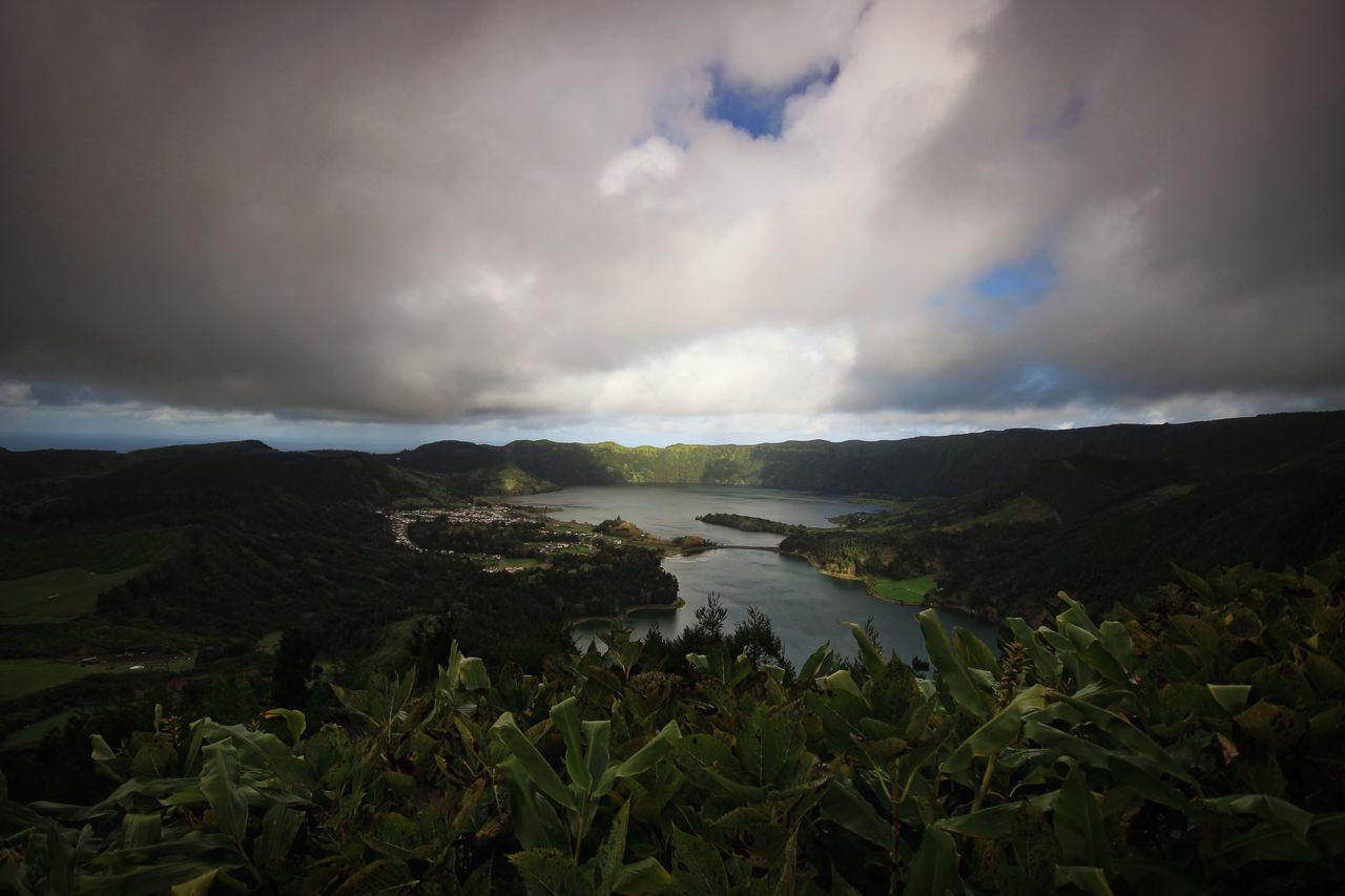 Nature Landscape Rain Travel Destinations Cloud - Sky Outdoors Scenics Tree Portugal Azores Azores Beauty Island Lagoa Das Sete Cidades
