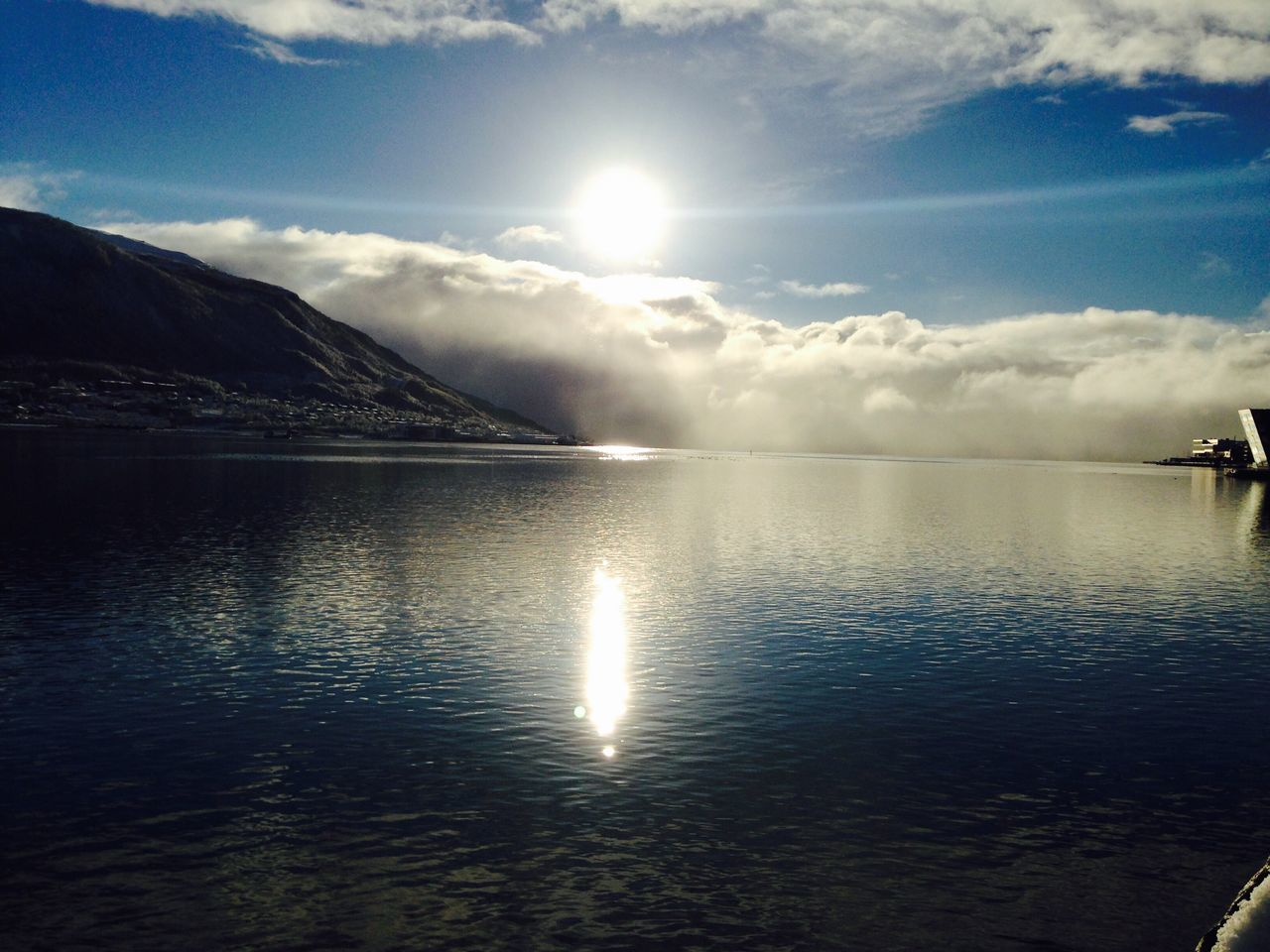 Water Reflection Tranquility Scenics Sky Beauty In Nature Tranquil Scene Nature Waterfront Outdoors Lake No People Day Cloud - Sky Mountain Norway Nordkapp Tromsø EyeEmNewHere Break The Mold
