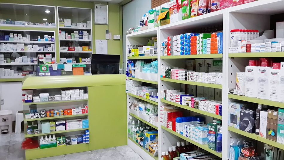 Medicine Pharmacy Office Pharmacy Store Pharmacy Healthcare And Medicine Drugstore Green Color Medicines