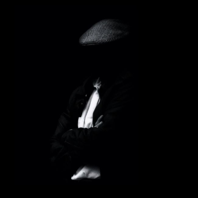 an acquaintance of his former self... Blackandwhite Anonymous Portraits Of Being Shootermag