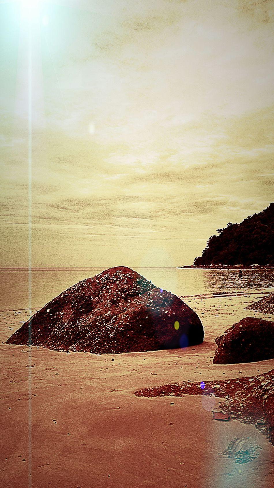 A rocky island Photography Island Vacation