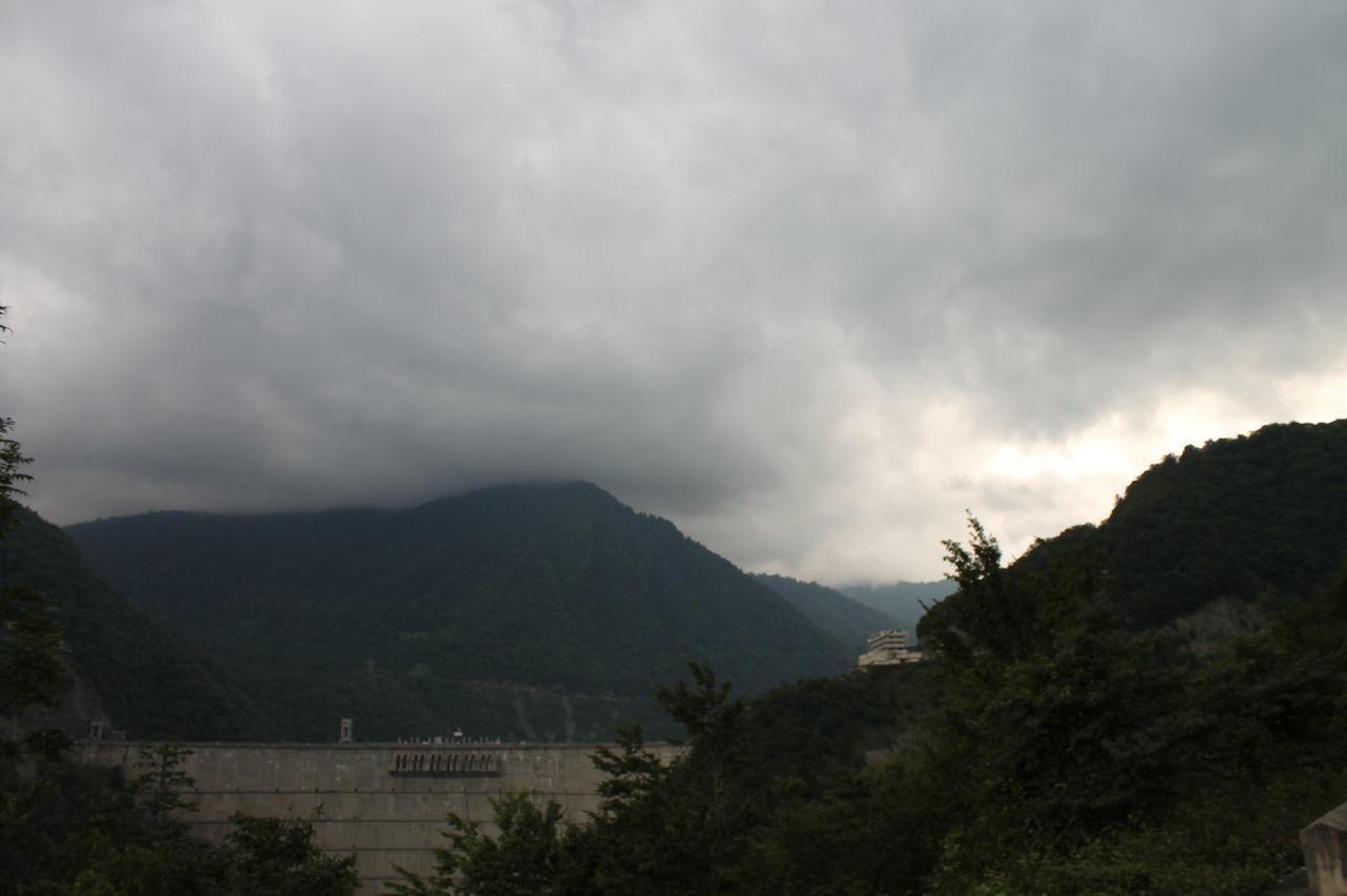 Astronomy Beauty In Nature Cloud - Sky Day Enguri Dam Inguri Dam Landscape Mountain Mountain Range Nature No People Outdoors Scenics Sky Storm Cloud Thunderstorm Tree