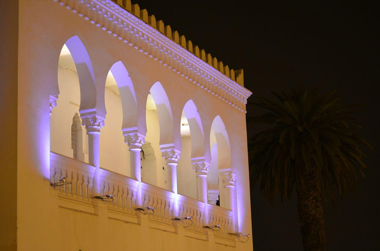 Oujda City, Morocco Architecture Lycee Omar Oujda