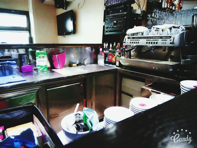 Work Caffebar Cloudy Day