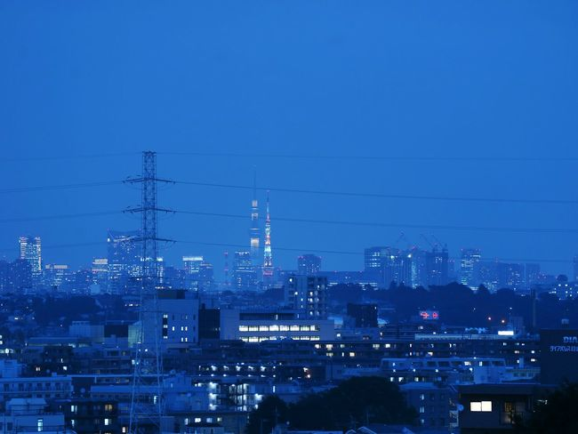 Tokyotower Tokyoskytree Skytree Towers Night Japan Urban Landscape Nightscape Nightphotgraphy  Landscape Cityscapes