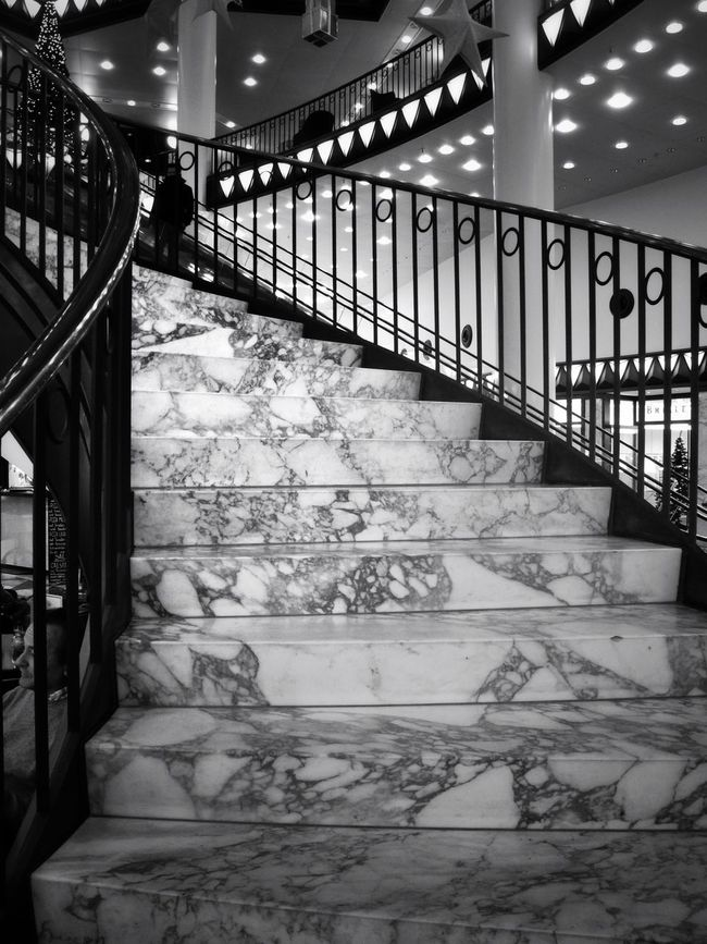 Stairways Urban Geometry The World Needs More Spiral Staircases Stairs Blackandwhite Geometry Bw_collection Black And White Fortheloveofblackandwhite Black & White