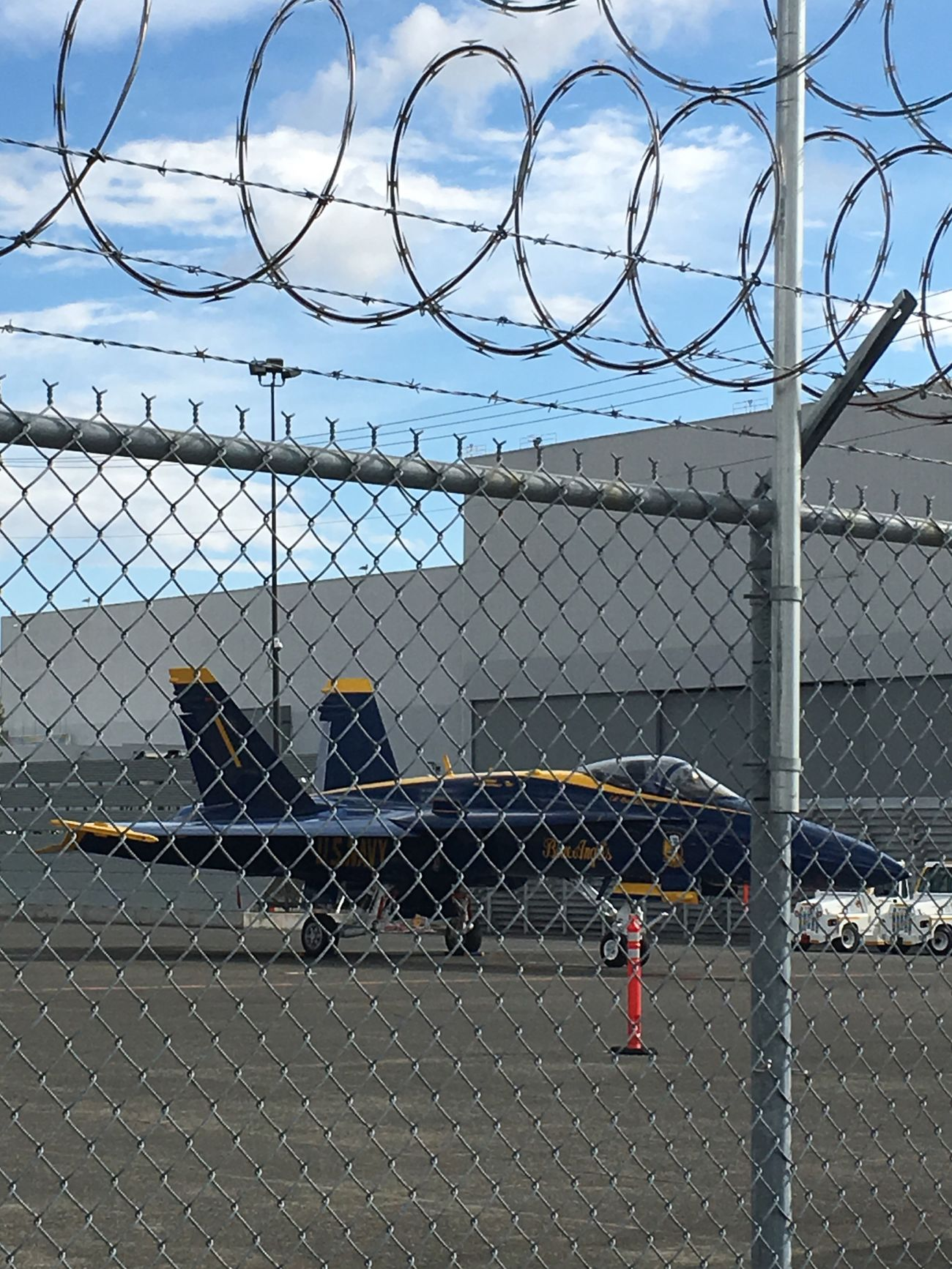 Boeing Field Blue Angles Seafair SeattleGamble Razor Wire Fence Washington Hidden Treasures... Hidden Gems  Taking Photos Fast And Loud Faster Than The Speed Of Light Fast Speedy Sound Barrier Blue Angles Love ♥ Flying High Flying In The Sky Fly Flyover Fly Pilots Best Pilots Boeing