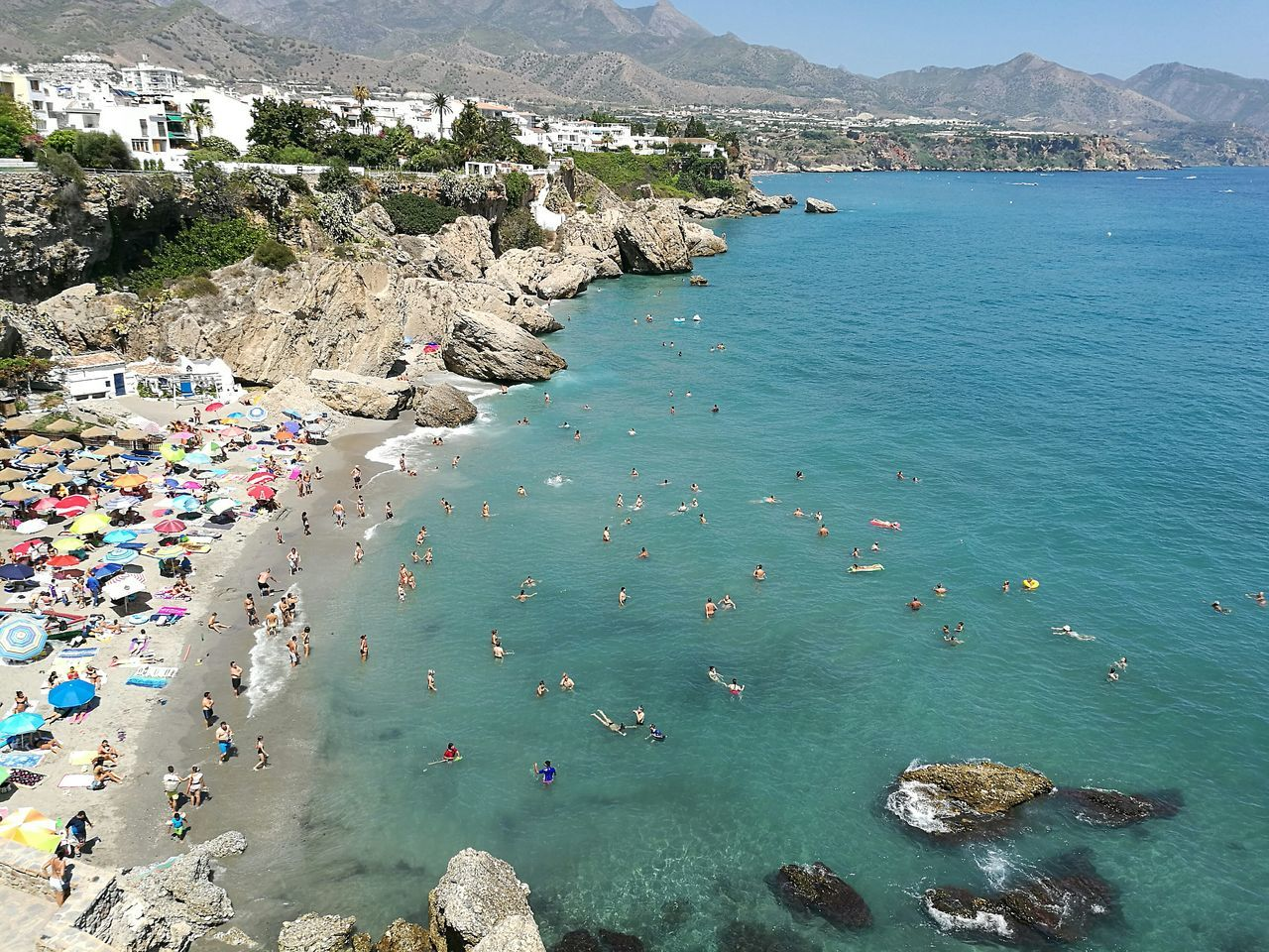 Colour Of Life SPAIN Andalucía Nerja Photop9plus Huawei Huaweiphotography Huawei P9 Plus Iscojapon A Bird's Eye View
