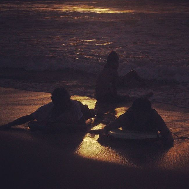 Sunset Kuta Bali Kutabali Pantai Beach Balinesia Baliisland Explorebali