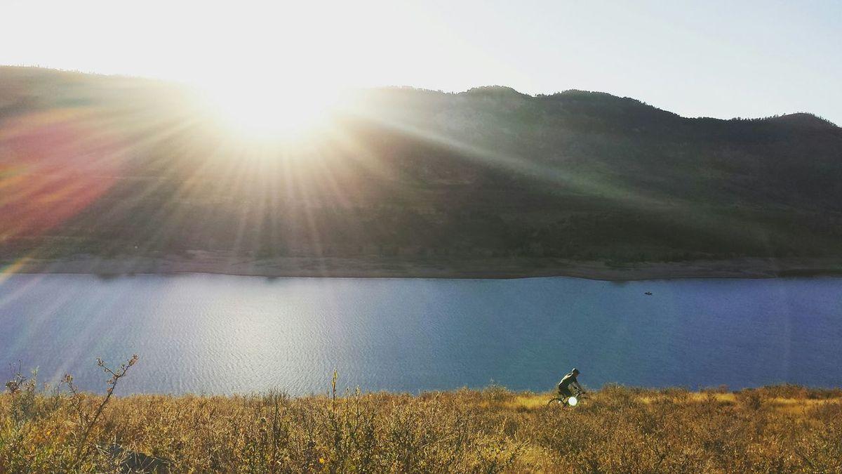 Up at Horsetooth Reservoir picking Sage in Fortcollins Colorado OpenEdit EyeEm Best Shots EyeEmBestPics Nature Photography