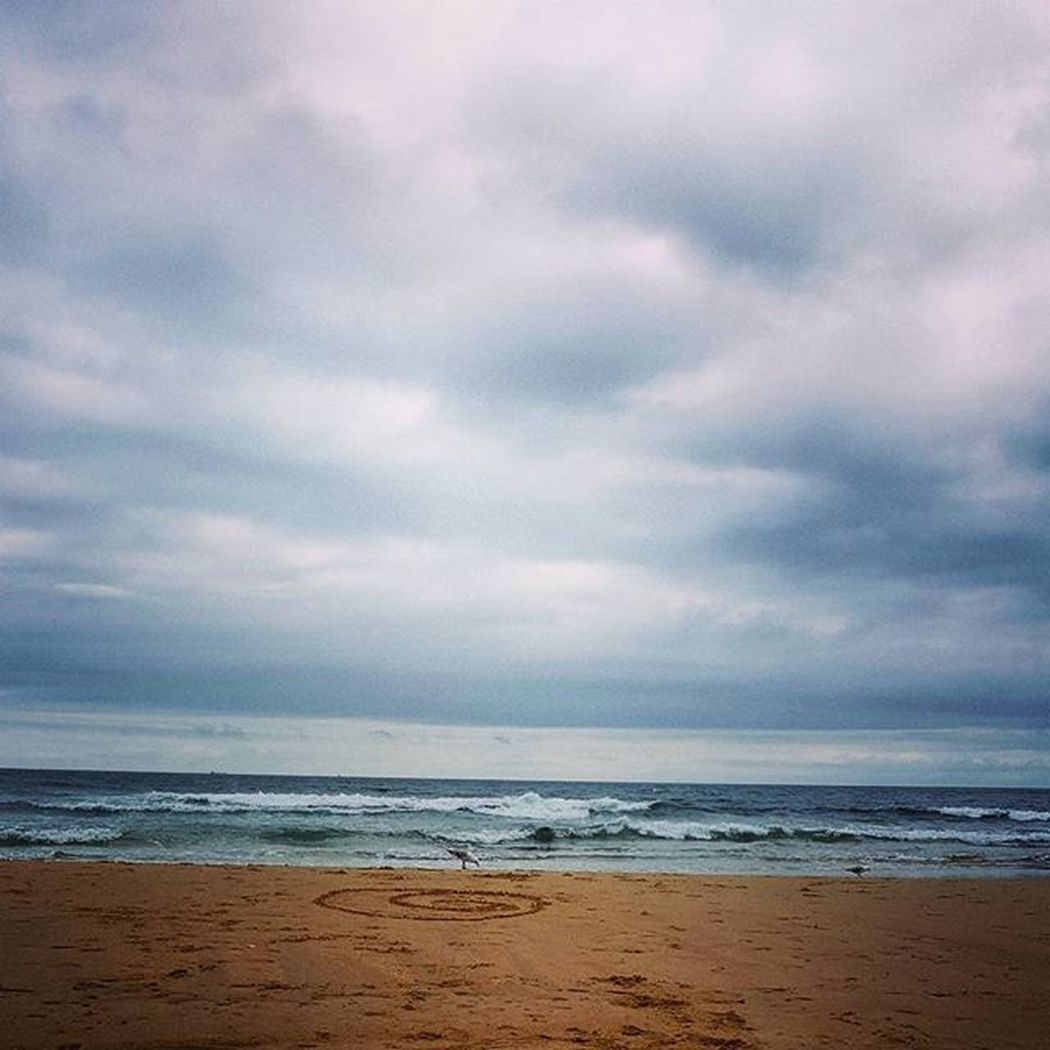 Beach chills ✌ Clouds Beach Sand Waves Water Nature Pretty Chilledvibes Goodvibes Sunshinecoast Daysoff Coastlife Simplelife