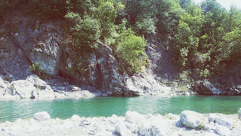 River Trebbia Nature Wonderful Place