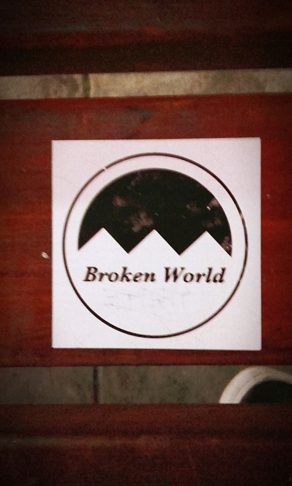 Brokenworld Broken World Sticker Stickerporn Stickers Stickerslapper Stickers And Stickers Sticker Slapper Stickers Stickers Stickers Stickerama Stickerwall Wallsticker Sticker It Stickerbomb Sticker Wall Stickerseverywhere Stickerslap The World Stickered Broken Stickerslappin Wall-stickers Save The World Wall Sticker Stickerslaps