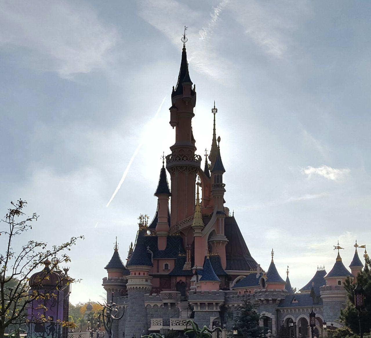 Disneyland Resort Paris Castle Travel Princess Disney