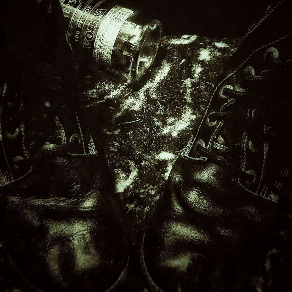 Vodka and boots. I'm not sure of the connection. Boots Vodka Cheap Vodka Liquor Bottles Alcohol Empty Alcohol Bottle Empty Bottle Black Dark Black Boots Tall Boots Military Boots Eyelets Shoes Still Life On The Floor Liquor Black And White Monochrome Greyscale Grayscale Monochromatic Vignette Grunge Army Boots Note: I know these aren't military issued boots--I just used the keywords because some people don't know or care about the difference.