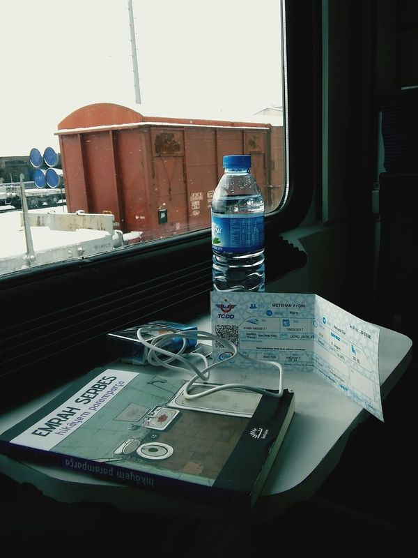Train - Vehicle Outdoors Wildlife & Nature Doğu Ekspresi Books ♥ Emrahserbes