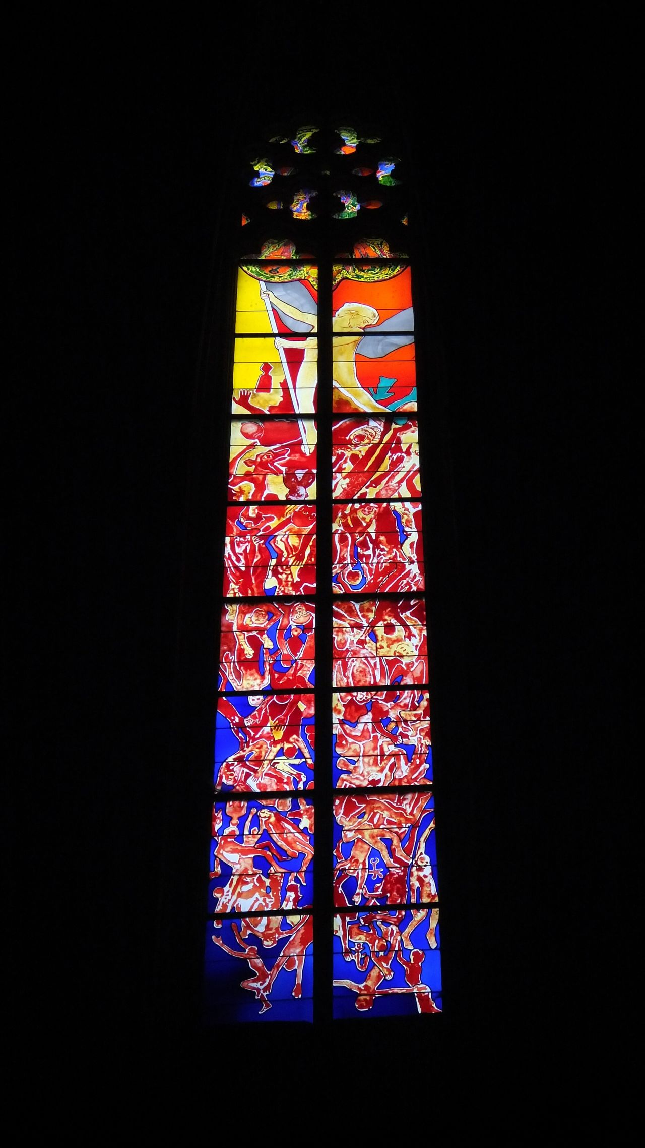 Cathédrale De Rodez Cathedral Vitrail Vitraux Stained Glass Window Rodez Aveyron Religious Architecture Religious Art Art Colorfull Colorful Colors