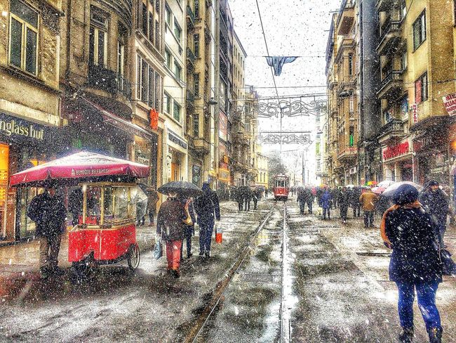 Walking Around Eyem Nature Lovers  EyeEm Best Shots Snow ❄ Taksim Naturelovers EyeEm Nature Lover Landscape Photography Taking Photos