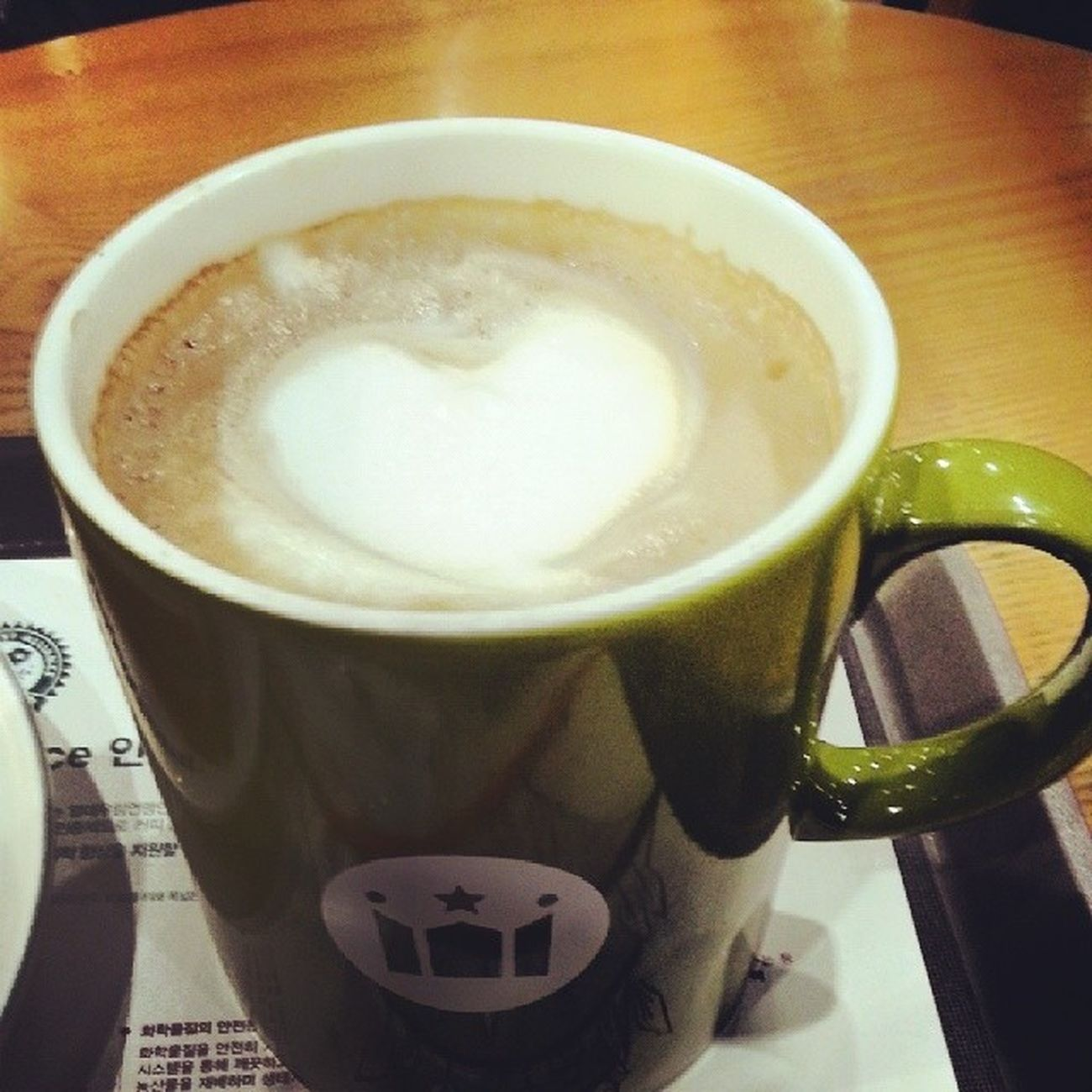 Heart -shaped Latte